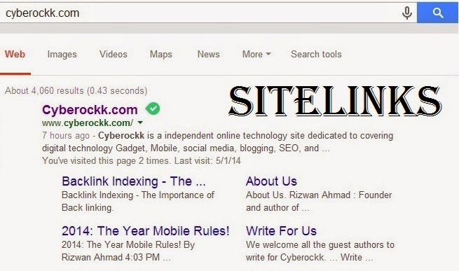What are Sitelinks? and How To Get Sitelinks of Your Website On Google
