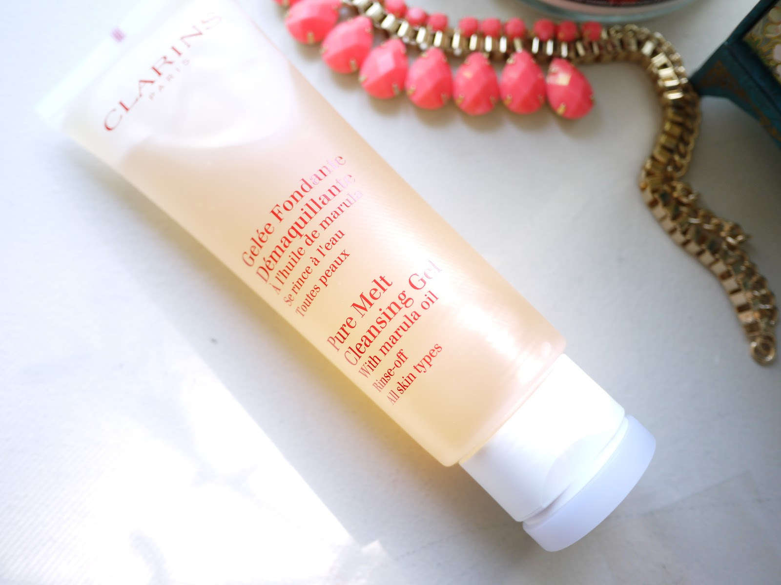 Clarins Pure Melt Cleansing Gel with Marula Oil review