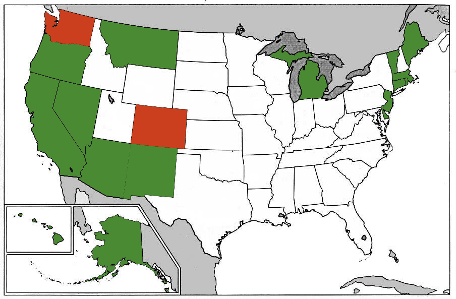 Medical Marijuana States Map