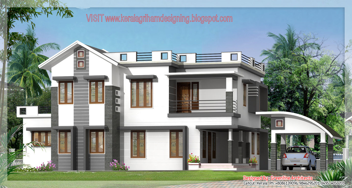 Kerala Home Plans Beautifull Villa Designs