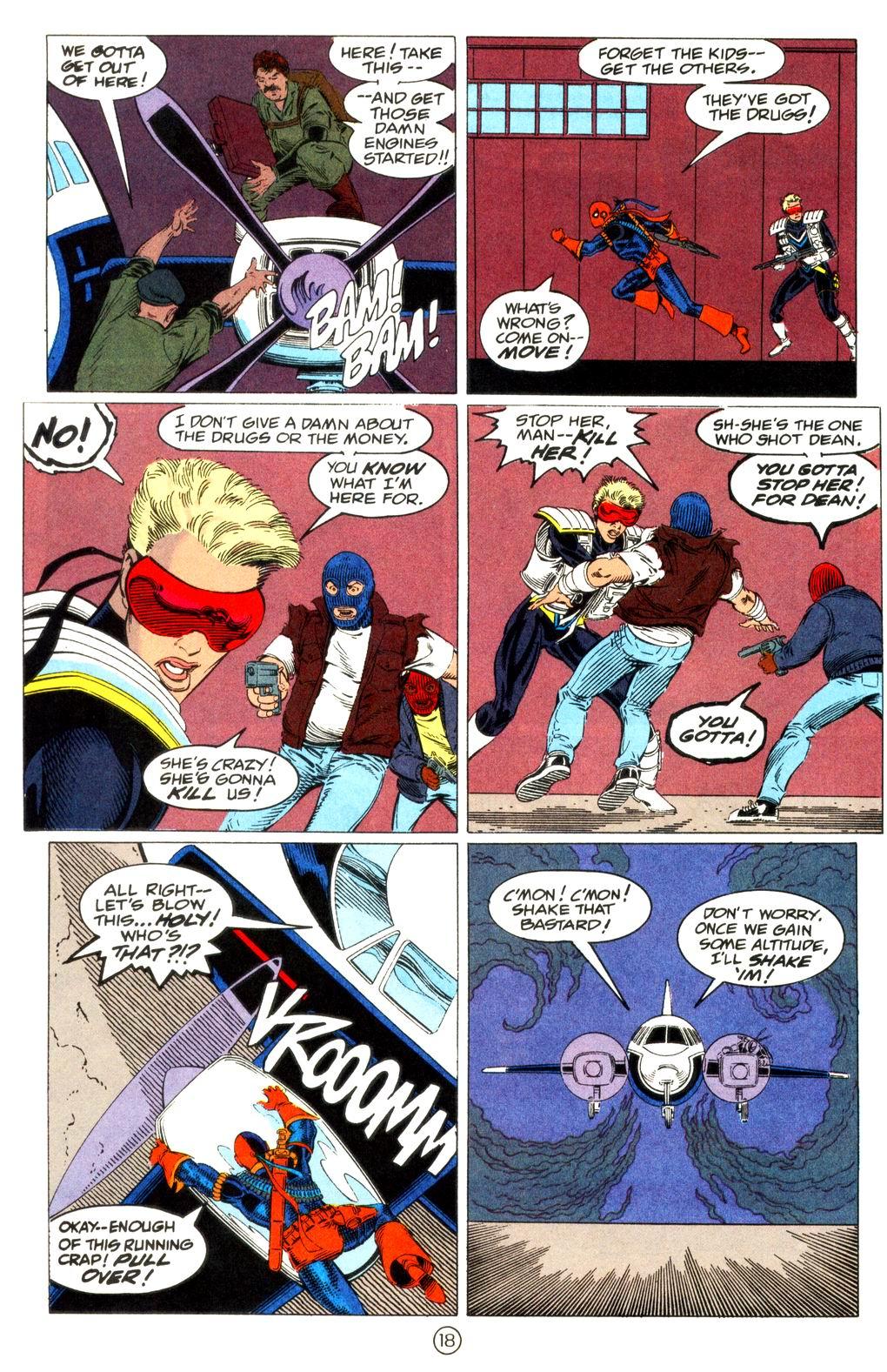 Deathstroke (1991) Issue #11 #16 - English 19