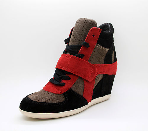 Fashion Blog Vered'Style Hidden Wedge Sneakers