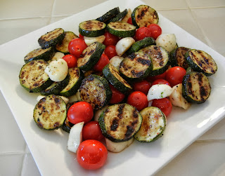 Grilled+Zucchini+Tomato+Mozarella+Salad Weight Loss Recipes Healthy Protein Packed Recipes to Celebrate World Vegetarian Day