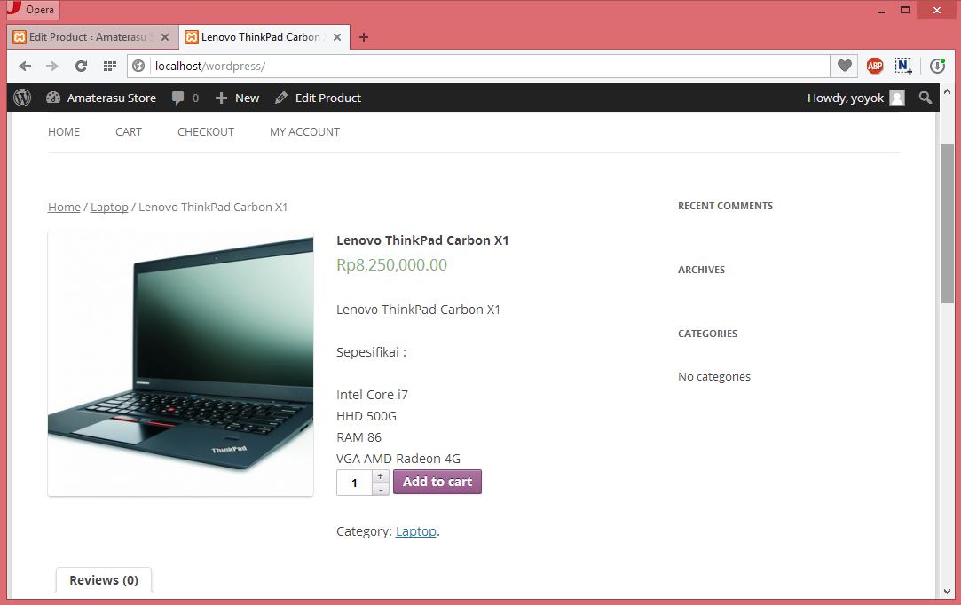 Panduan Menggunakan Plugin WooCommerce Untuk Membuat Toko Online di Wordpress 9