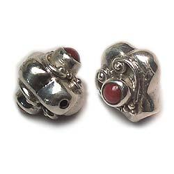 925 Sterling Silver Stone Beads