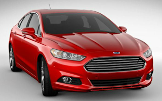 2013 Ford Fusion ruby red