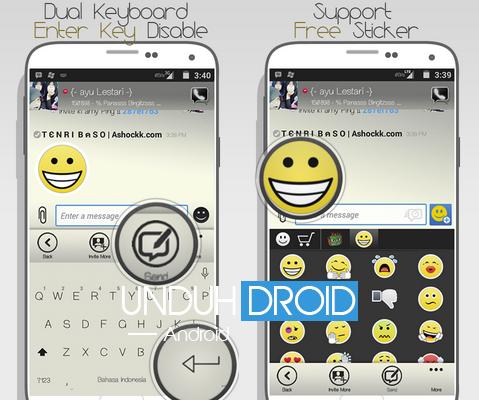 BBM Mod Windows Phone Monochome Android