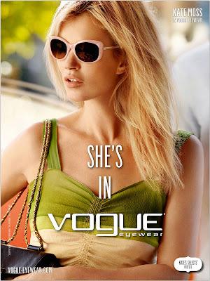 Kate Moss Vogue Eyewear Spring-Summer 2012 – Fashion Style