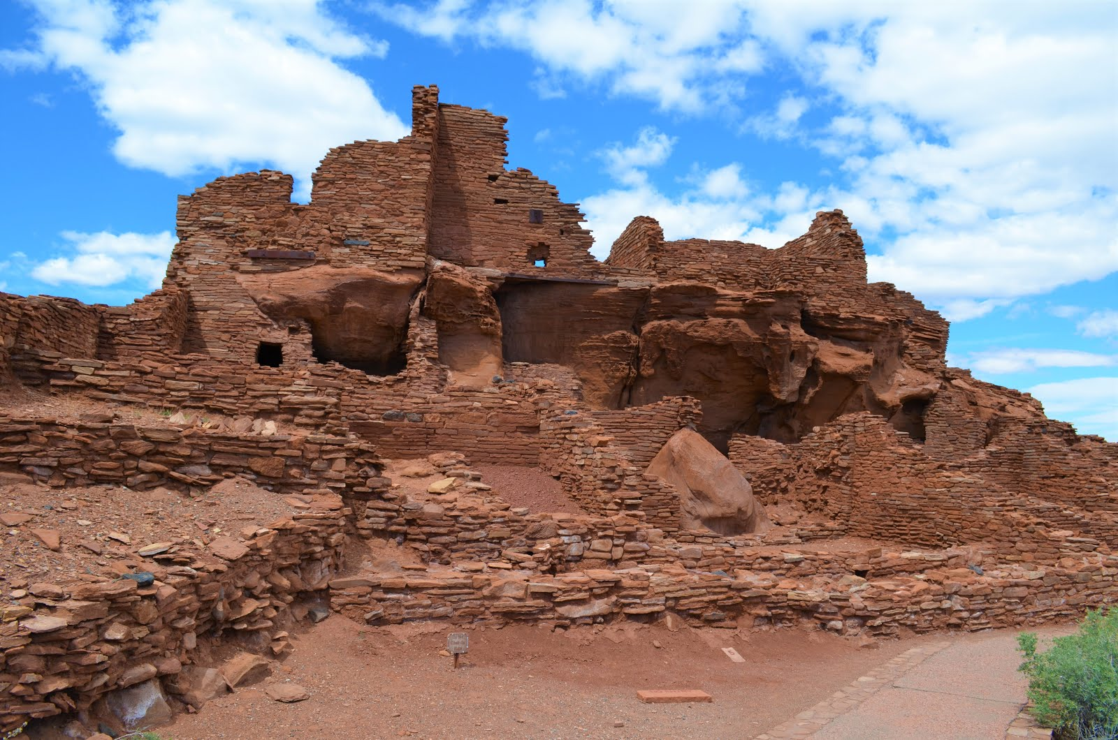 Wupatki pueblos