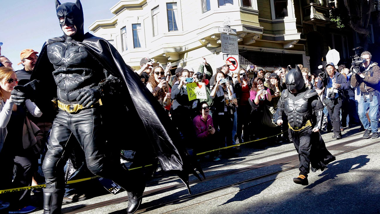 BatKid Miles Scott throws first pitch at San Francisco Giants Game