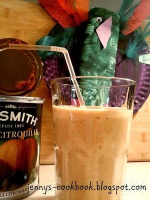 pumpkin pie smoothie - secret recipe club