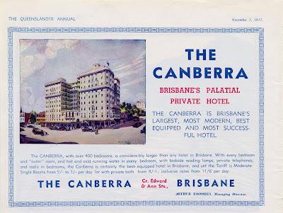 The Canberra Brisbane's Palatial Private Hotel