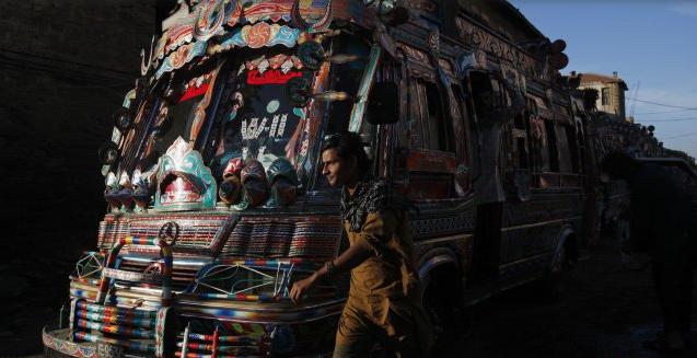 bus unik di kota pakistan | liataja.com