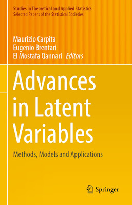 Advances in Latent Variables: Methods, Models and Applications - Free Ebook Download