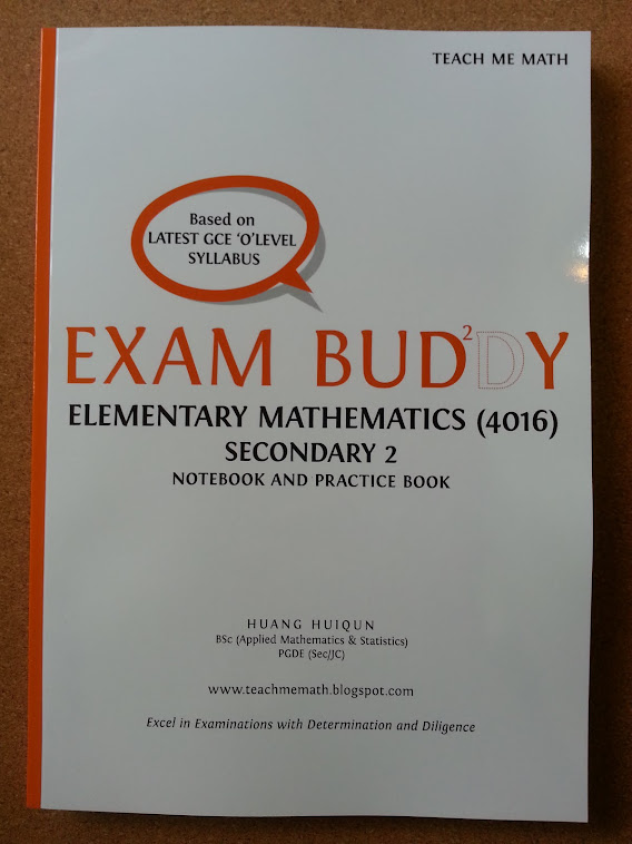 Exam Buddy (E Math Sec 2) 2nd Ed, 2nd Print