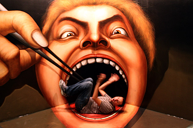 Fresh Pics: Optical Illusions From Busan's Trick Eye Museum