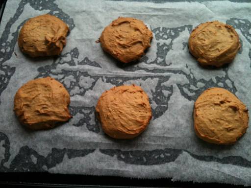 Peanut Butter and Banana Biscuits - Grain Free, Gluten Free, Dairy Free