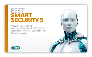 Eset Smart Security 5 (español-multi) licencia asta 2015