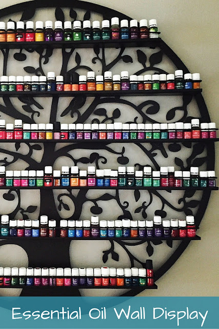 essential oils storage and display #youngliving #essentialoils #yleo, #walldisplay