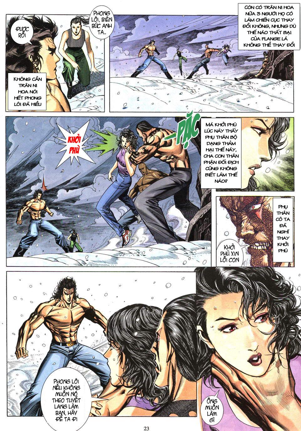 Phong Lôi chap 40 - Trang 24