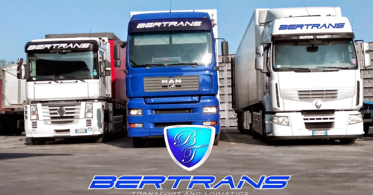 Spedizioni Internazionali Bertrans : Camion Bertrans Srl trasporti e logistica