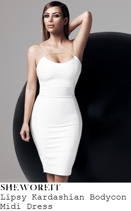 sam-faiers-white-sleeveless-strappy-bodycon-midi-pencil-dress-dinner-smiths