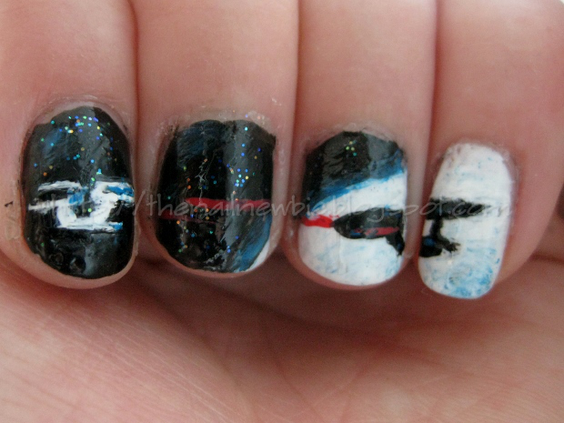 To Boldly Polish Star Trek Nails Standoff In Space And A Real