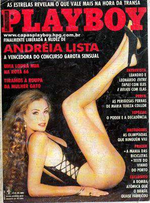 Andréia Lista - Playboy 1992
