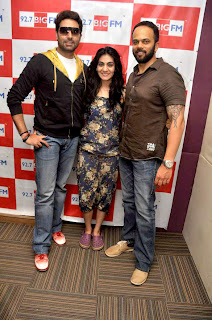 Abhishek, Rohit at 98.7 BIG FM