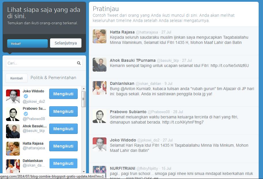 ikuti 5 orang di twitter