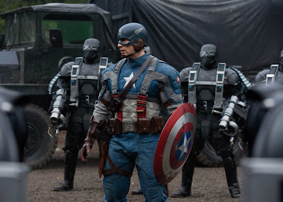 Capitán América. El Primer Vengador. Distinto superhéroe y ambientación para una estructura de película típica del género