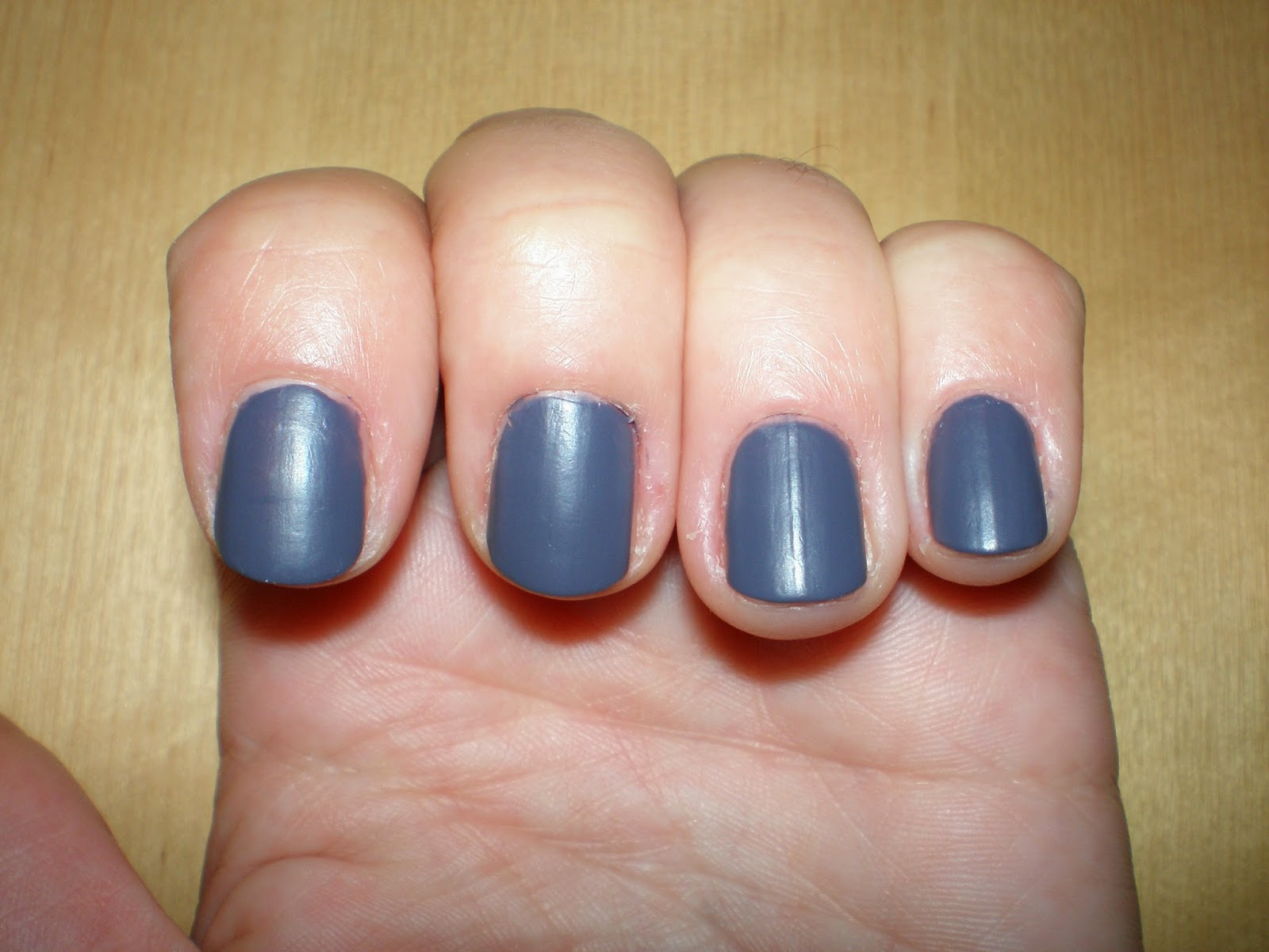 Peggy Sage Smoky Mat No.322 on my nails