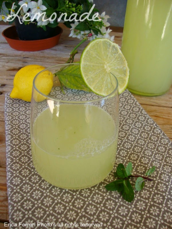 Limonata fatta in casa