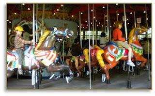 Central Park carousel, Stein & Goldstein