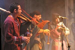 Contrata Show con Gaitas Medievales
