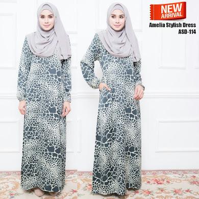 AMELIYA STYLISH DRESS ( RM80 )