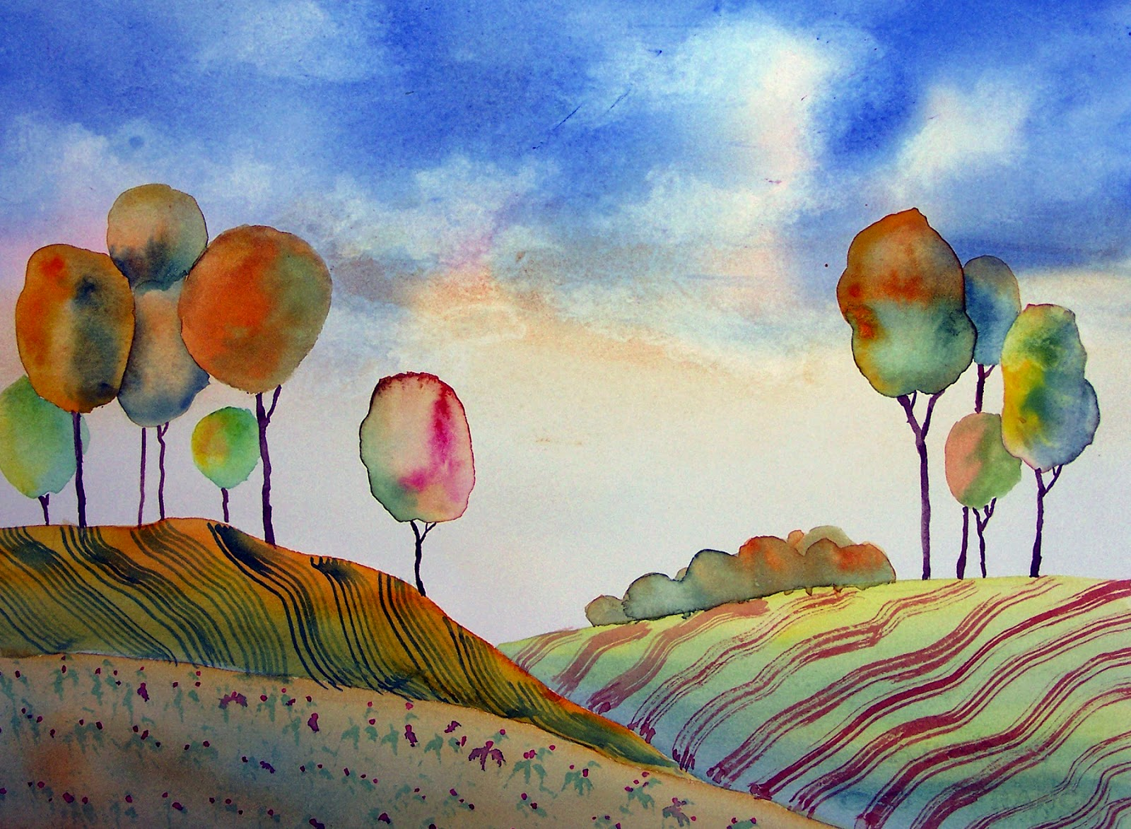 watercolor subjects