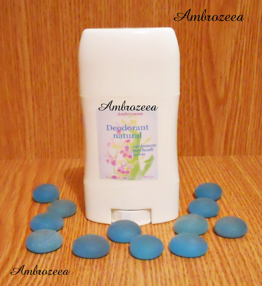 Deodorant natural AmbroDeo cu Santal si Patchouli