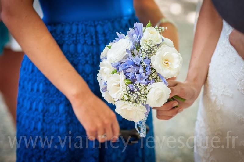 Bouquet mariée lavande blog mariage