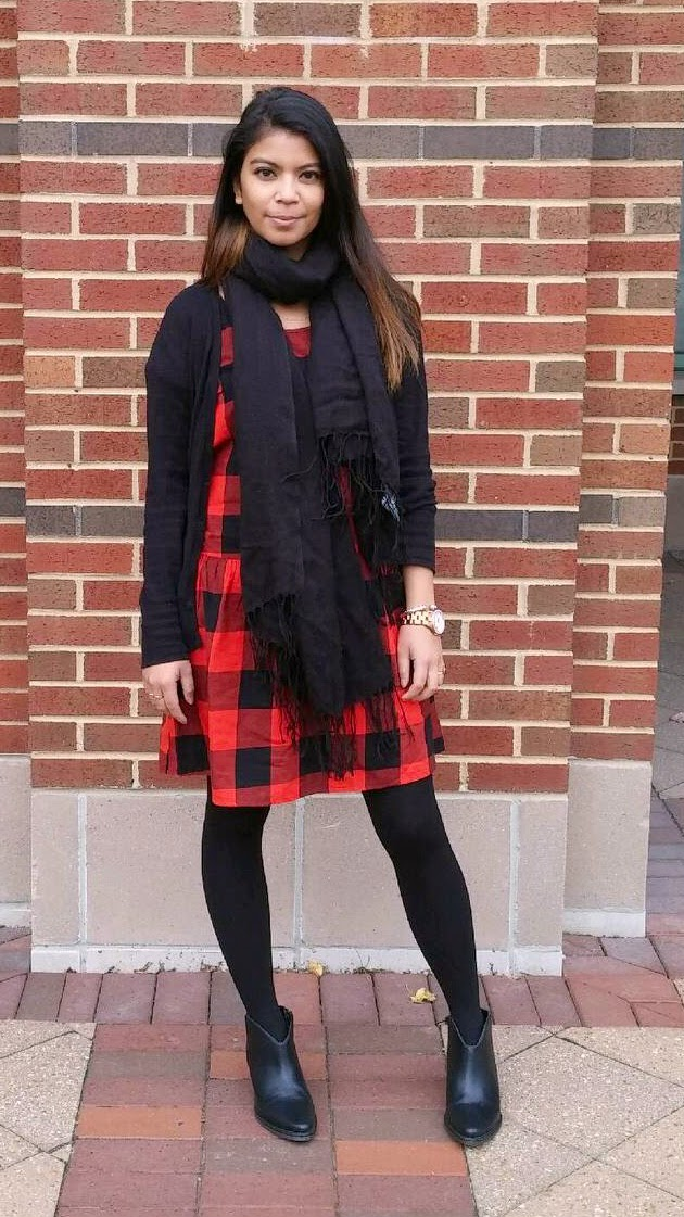 gingham, plaid, outfit of the day, portland fashion blogger, old navy, street style, chicago, fashion blogger, plaid dress