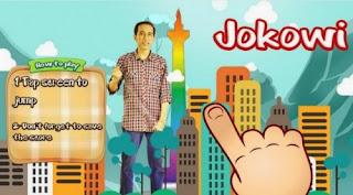 game Android Gratis yang Miliki Karakter Jokowi