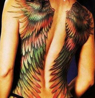 Tatoos y Tatuajes de Alas, parte 5