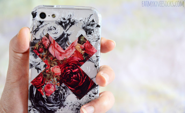Clash Cases' contrast floral X phone case is bold, vibrant, and beautiful, with a high-quality print and durable case.