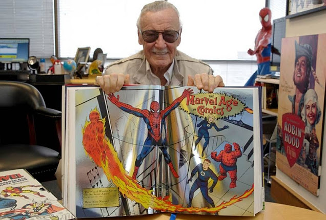 Stan Lee and Taschen 75 Years of Marvel Comics