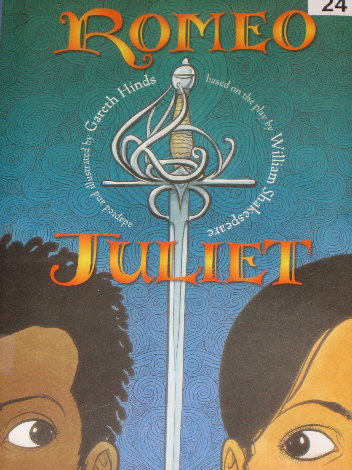 mostly shakespeare but also some occasional nonsense the most excellent and lamentable tragedy of romeo and juliet adapted and illustrated by gareth hinds this is a graphic novel version of romeo and juliet