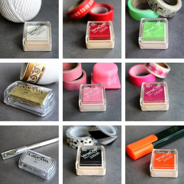 tintas de colores para estampar sellos personalizados hermanas bolena