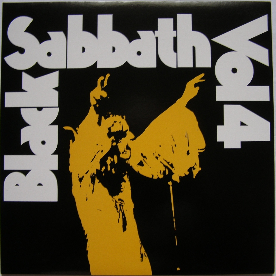 Moje Vinyly Black Sabbath Vol 4 1972