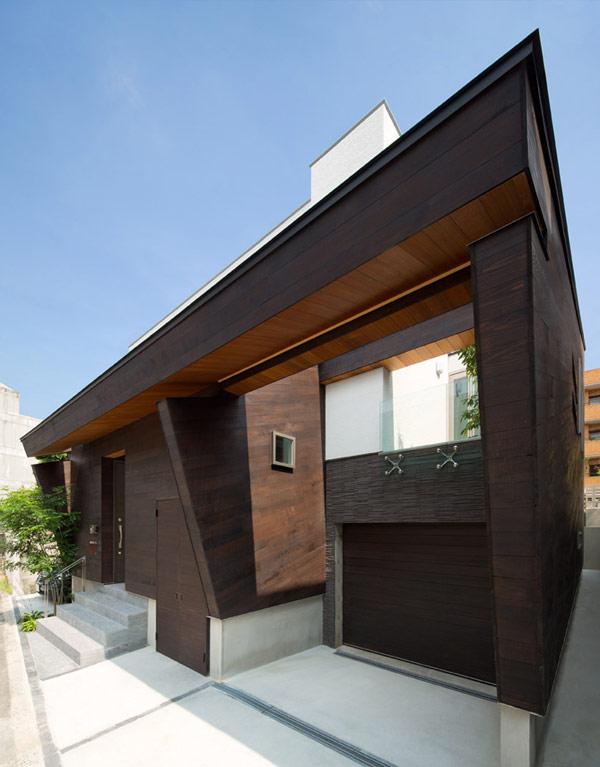 Hogares frescos arquitectura japonesa moderna casa u3 for Arquitectura minimalista casas