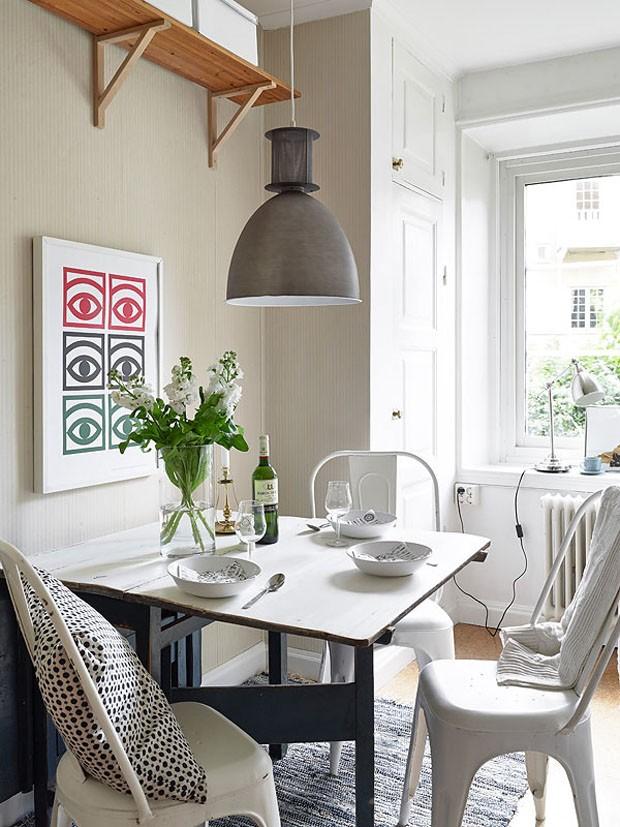 Quem casa quer casa ou ap tipos de mesa para lugares pequenos for Comedores pequenos de vidrio