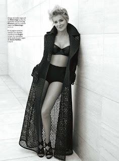 Sharon Stone looks stunning in photo spread for S Moda magazine.